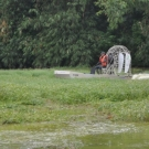 Glen-L Airboat as built by Teddy Ardi - Test run