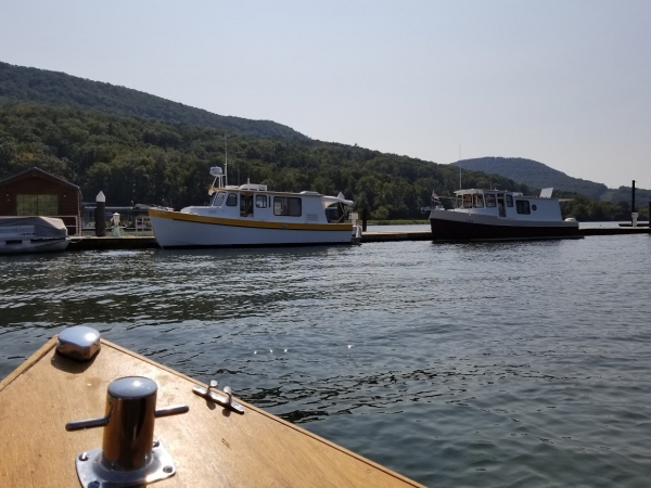 04 the dock Hales Bar 2017 view from the bow
