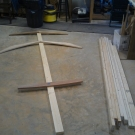 Parts for the building form.