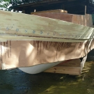 Glen-L Cabin Skiff as built by Ramon Martinez - 029