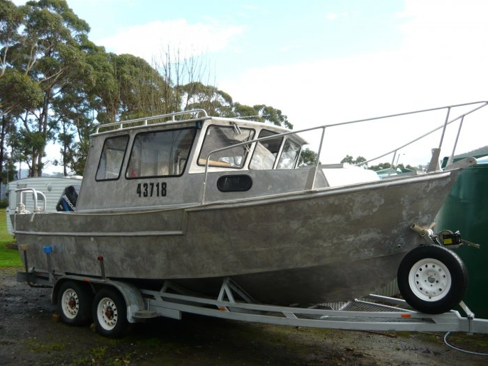 Glen-L Chinook as built by John Tindall in Aluminum