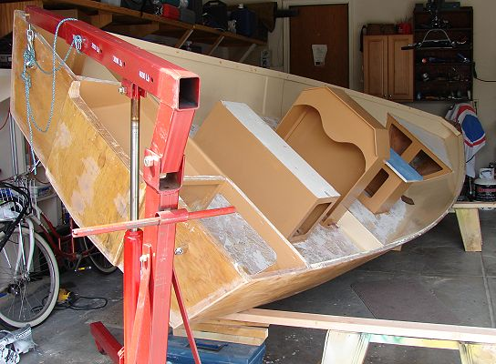 Glen-L Console Skiff as built by Bill Arnold