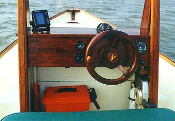 Console Skiff by Mark Newman