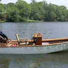Console Skiff by Pat Walsh