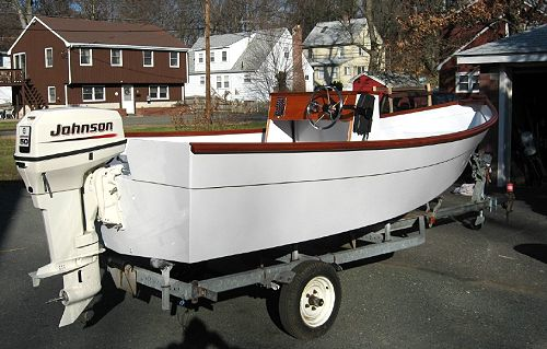 Glen-L Console Skiff as built by Michael Bonaiuto