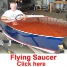 Flying Saucer by Jerry Waller