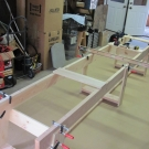 Glen-L 15 as built by Terry Moore - Building Form almost complete