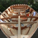 Glen-L 15 as built by Terry Moore - Buildout from the bow