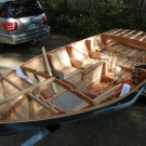 Glen-L 15 as built by Terry Moore - Interior buildout started