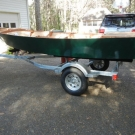 Glen-L 15 as built by Terry Moore - Side view on trailer