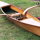 Sculling Skiff by Don Scribner