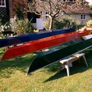 Sculling Skiff by Jeff Gill