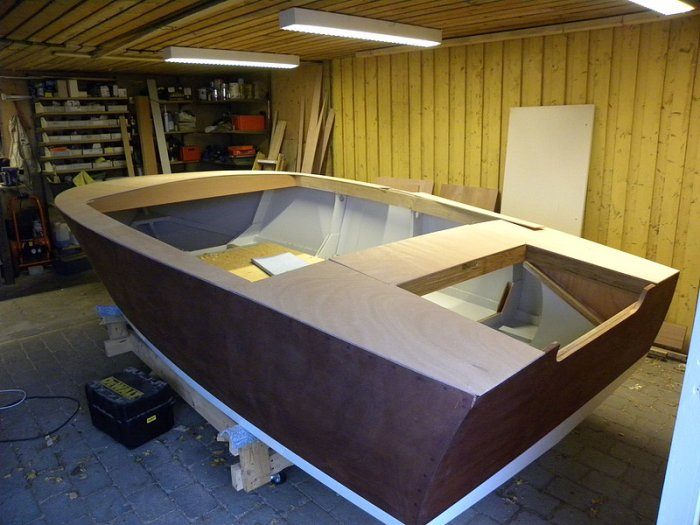 Glen-L Ski Tow as built by Lars Vestergaard